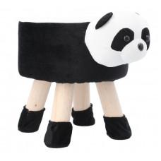 Inlea4Fun Gyerek puff ülőke - Panda Előnézet