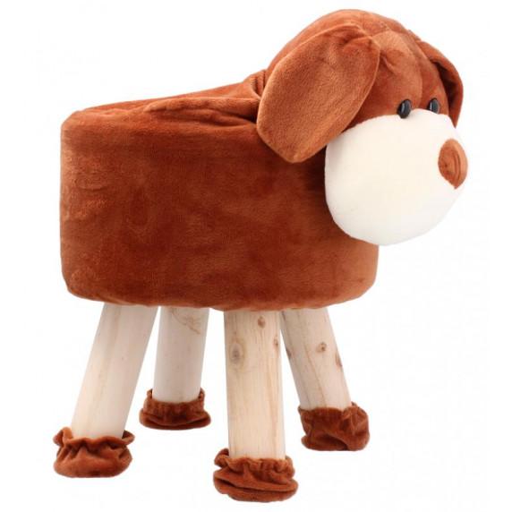 Inlea4Fun Gyerek puff ülőke - Kutya