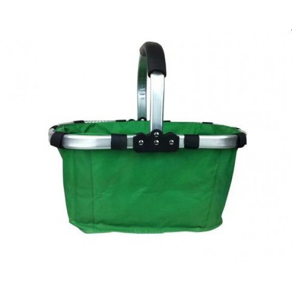Összecsukható bevásárlókosár - zöld