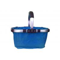 Összecsukható bevásárlókosár-kék