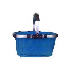 Összecsukható bevásárlókosár-kék Előnézet