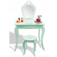 Fésülködő asztal gyerekeknek Inlea4Fun PHO3549 - Menta zöld