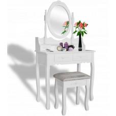 Inlea4Fun Fésülködő asztal székkel PHO3992M Előnézet