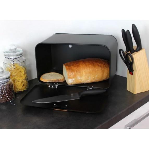 Cook Line COMINO Fém kenyértartó - fekete