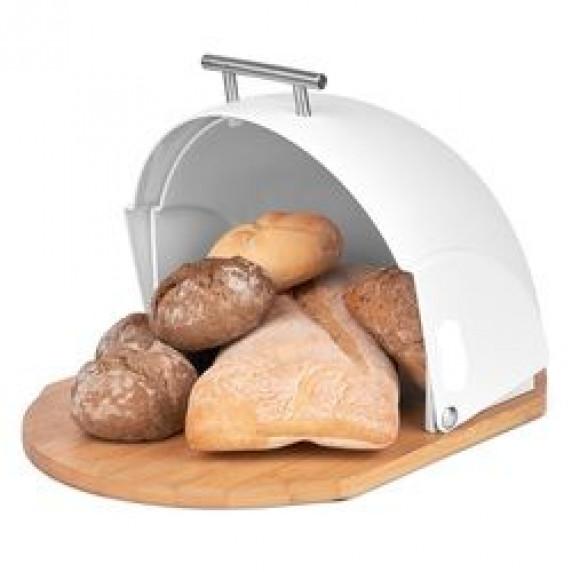 Cook Line CURCUMA Fém kenyértartó - fehér
