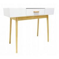 Skandináv stílusú 1 fiókos asztal 100 x 40 x 79 cm InGarden SCANDINAVIA