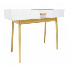 Skandináv stílusú 1 fiókos asztal 100 x 40 x 79 cm InGarden SCANDINAVIA  Előnézet