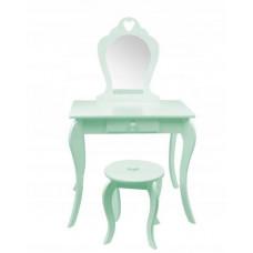 Fésülködő asztal gyerekeknek Inlea4Fun - Menta zöld Előnézet