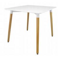 Skandináv stílusú étkezőasztal -fehér FAT1132