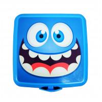 Tároló uzsonnás doboz evőeszközzel Inlea4Home - smile