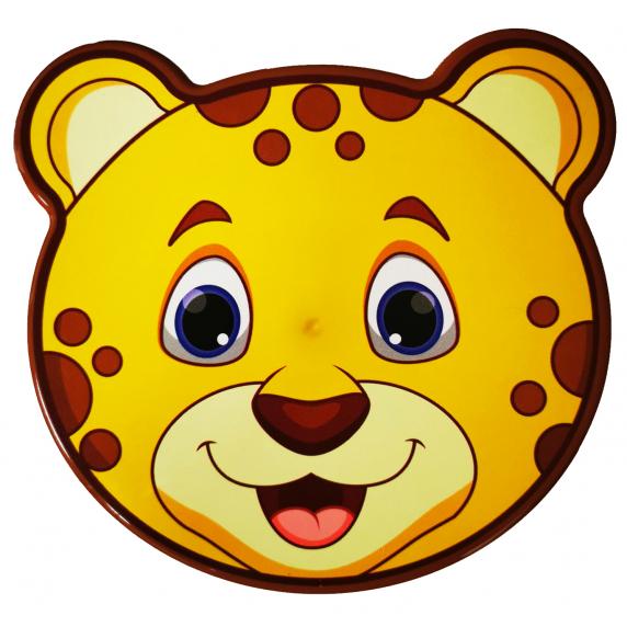 Tároló doboz szett 4 részes Inlea4Home - leopárd