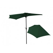 InGarden erkély napernyő 270 cm - zöld Előnézet