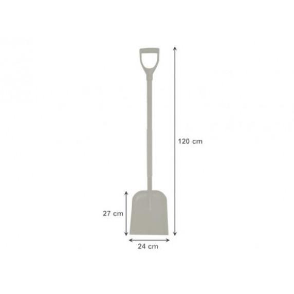 GARDEN LINE lapát acél fogantyúval 120 cm