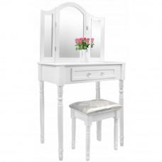 Inlea4Fun Fésülködő asztal székkel PHO0069 Előnézet