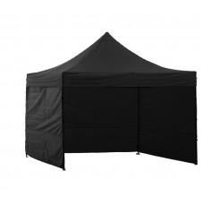 InGarden kerti sátor 3x3 m - fekete Előnézet