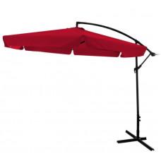 Függő napernyő InGarden BANANA 300 cm - Piros Előnézet