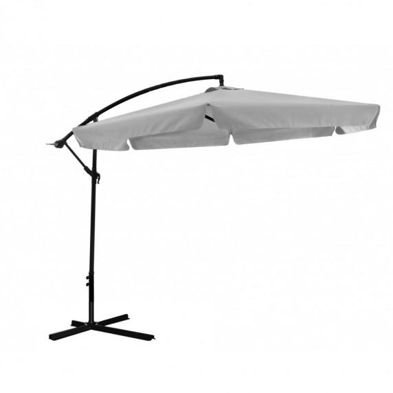 InGarden BANANA 300 cm függő napernyő - Sötét szürke