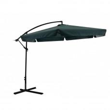 InGarden BANANA 300 cm függő napernyő - Sötét zöld Előnézet