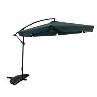 InGarden BANANA 300 cm függő napernyő - Sötét zöld