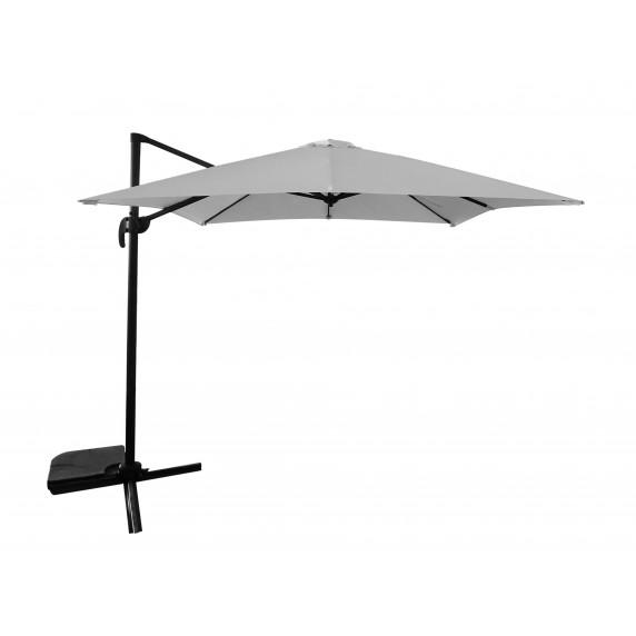 InGarden kerti napernyő MINI ROMA 2,5 m védőtakaróval - Szürke