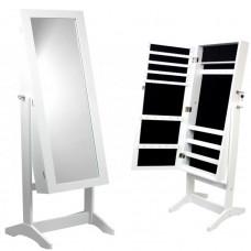 Inlea4Fun álló tükör ékszer szekrény 120cm Előnézet