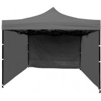 InGarden kerti sátor 3x3 m - szürke