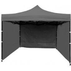 InGarden kerti sátor 3x3 m - szürke Előnézet