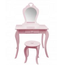 Inlea4Fun Fésülködő asztal gyerekeknek-rózsaszín  Előnézet