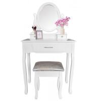 Fésülködő asztal székkel Inlea4Fun SOFIA PHO0052