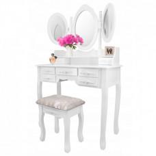 Fésülködő asztal székkel Inlea4Fun SHABBY CHIC PHO5506 Előnézet