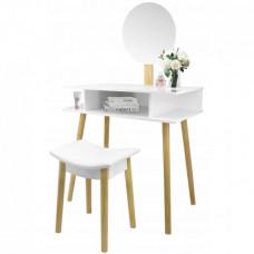 Fésülködő asztal székkel Inlea4Fun PHO5803 Előnézet