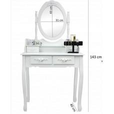 Inlea4Fun  álló tükör ékszer szekrény 140cm Előnézet