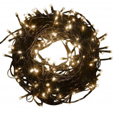 Kültéri/beltéri karácsonyi fényfüzér 8,50 m 100 LED Inlea4Fun - meleg fehér Előnézet