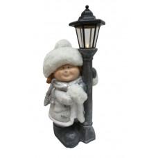 Inlea4Fun Kislány álló lámpással 53 cm Előnézet