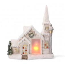 Inlea4Fun LED-es karácsonyi kerámia házikó  GOT7081 Előnézet