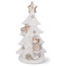 Inlea4Fun Kerámia karácsonyfa LED világítással GOT7135 Előnézet