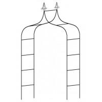 Kerti fém boltív 150 x 37 x 240 cm GARDEN LINE