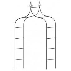 Kerti fém boltív 150 x 37 x 240 cm GARDEN LINE Előnézet