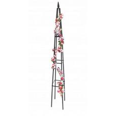 Fém piramis virágfuttató 31 x 31 x 200 cm GARDEN LINE Előnézet
