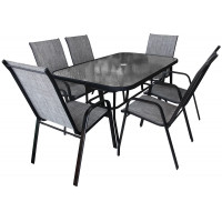Kerti asztal székekkel GARDEN LINE
