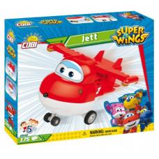 COBI 25122 SUPER WINGS Jett piros repülőgép 175 db  Előnézet