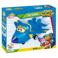COBI 25125 SUPER WINGS Jerome kék vadászrepülő 185 db