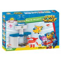 COBI 25132 SUPER WINGS Nemzetközi repülőtér + Jett és Donnie 510 db