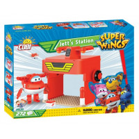 COBI 25133 SUPER WINGS Jett és a hangár 272 db