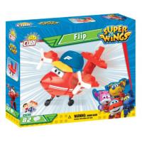 COBI 25136 SUPER WINGS Flip mini sport repülőgép 82 db