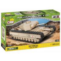 COBI-2709 WORLD WAR II A22 WW Churchill Páncélozott jármű tank