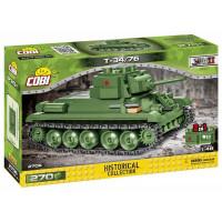 COBI-2706 SMALL ARMY Tank II WW T34/76 Páncélozott jármű tank