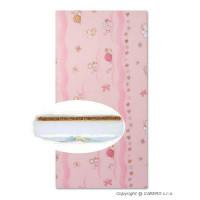 NEW BABY Molitan-kókusz matrac 120x60 cm - Rózsaszín