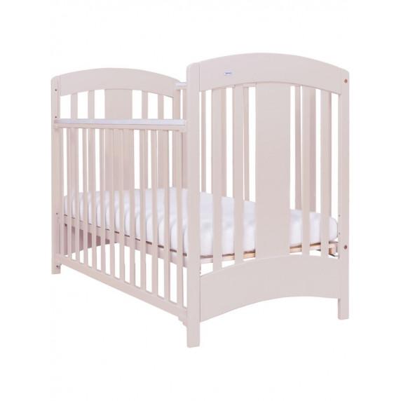 Drewex Natálka gyermek kiságy leengedhető ráccsal - bézs