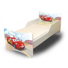 Racer Verdás gyerekágy leesésgátlóval 180 x 80 cm Előnézet